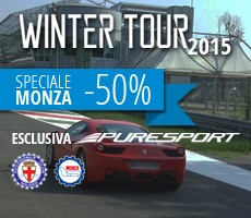 Winter Tour Speciale Monza -50% Vallelunga -30%