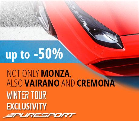 Специальный зимний тур в Monza -40%