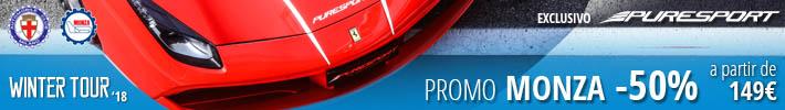 Conducir en Monza granturismo monoplaza con Puresport