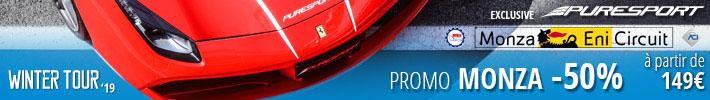 Conduisez à Monza grandturisme monoplace avec Puresport