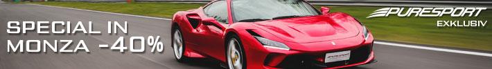 Granturismo oder Einzitzer in Monza selber fahren
