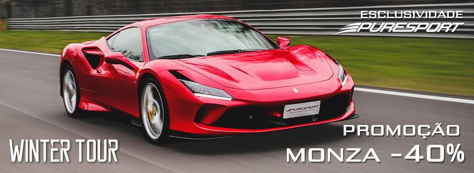 Pilote um Gran Turismo ou Fórmula em Monza com Puresport