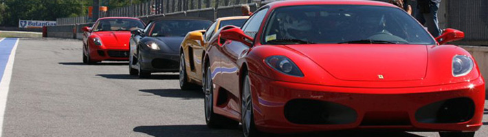 Ferrari and Lamborghini track day Book your day on the track
