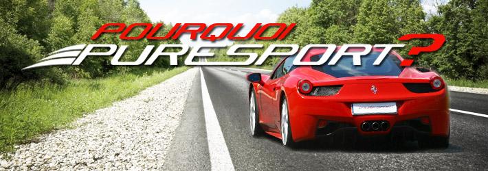 Didactique: sécurité au volant et conduite sportive avec les cours de pilotage  Puresport