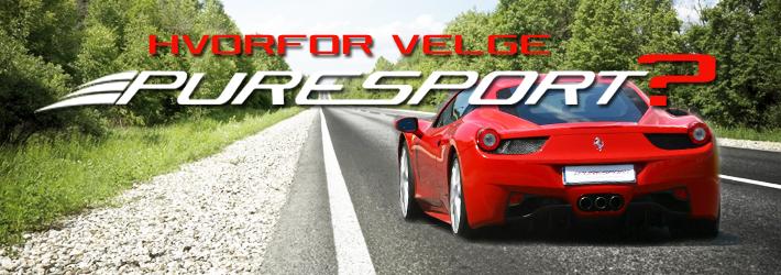 Puresport Driving School: årsaken til at velge våre kjøreopplevelser!