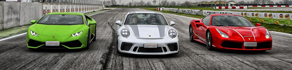 Ferrari - Lamborghini - Porsche