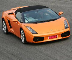 Lamborghini Gallardo in Franciacorta
