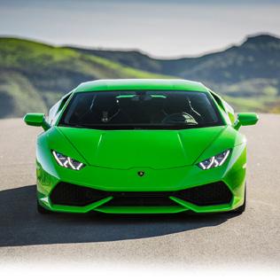 Gi noen en kjøretur med Ferrari, Lamborghini, Porsche