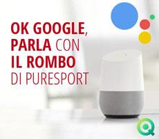Google Assistant Puresport Senti il rombo