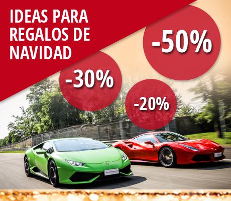 Regalos originales Puresport Por navidad conducir en pista un Ferrari, un Lamborghini o un auténtico monoplaza