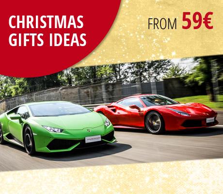 Puresport gavekort ideer For jul, kjør en Ferrari, en Lamborghini eller en ekte enseter på banen