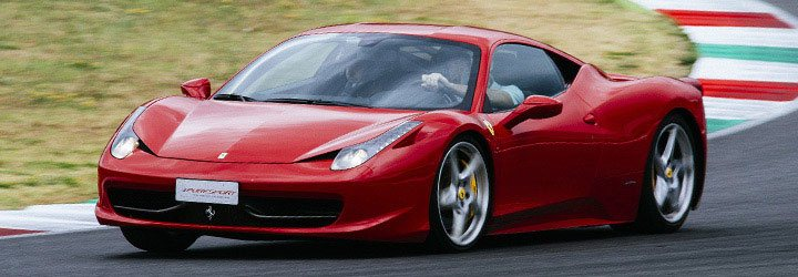 Ferrari 458 Italia in Monza