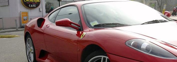 noleggio Ferrari F430 coupè