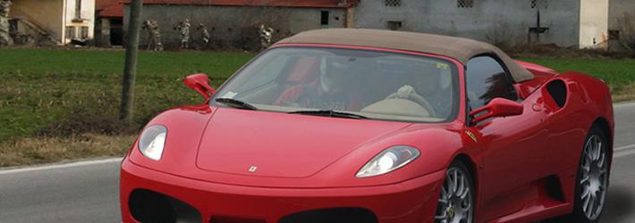 noleggio Ferrari F430 spider