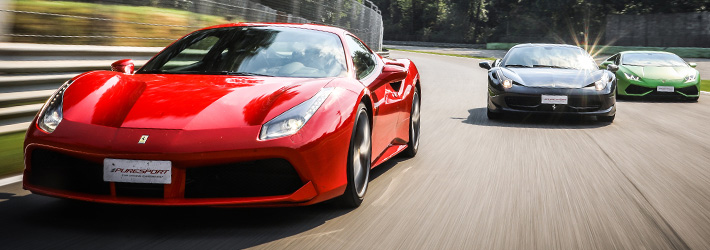 Ferrari, Lamborghini and GT cars Track days
