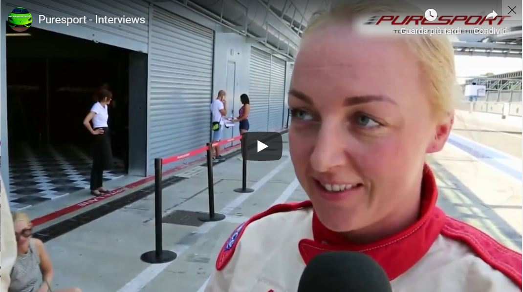 Video interview 2 Experience Monza